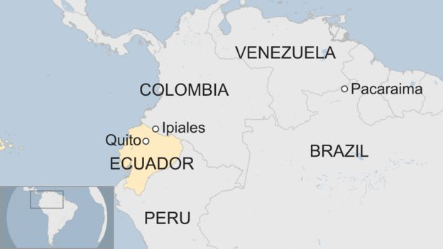Ecuador Tightens Entry Rules For Venezuelan Migrants Bbc News
