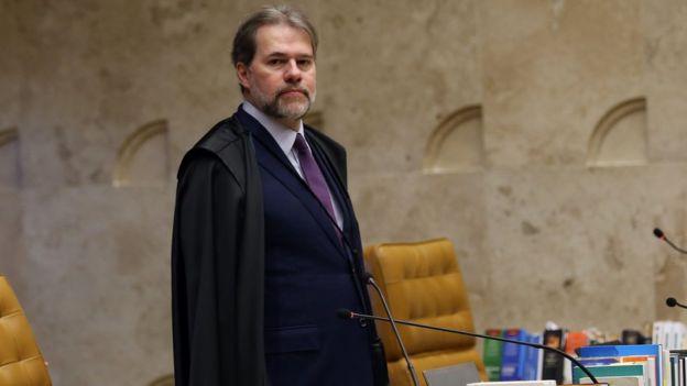 Ministro Dias Toffoli, que assumiu a presidência do STF na quinta-feira, dia 13