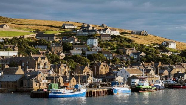 Paisagem das Ilhas Orkney