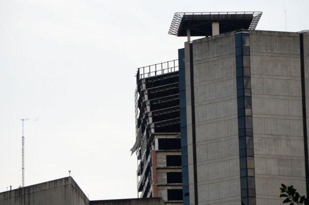Torre de David en Caracas.