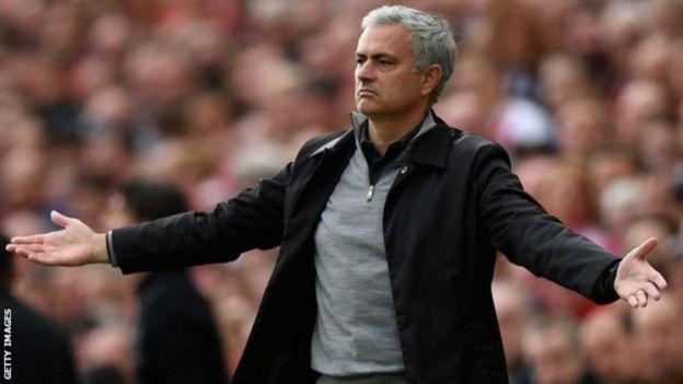 Mkufunzi wa Man United Jose Mourinho