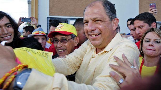 Luis Guillermo Solís, presidente da Costa Rica