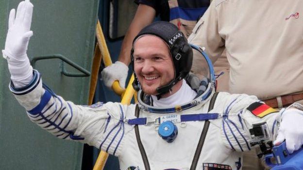 رائد الفضاء الألماني