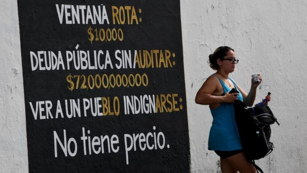 Aviso sobre la deuda externa