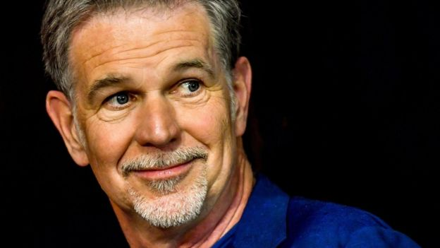 Netflix chief executive Reed Hastings praised Mr Friedland's contribution to the company