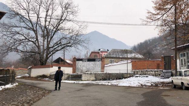 Qaxın Qaşqaçay kəndi