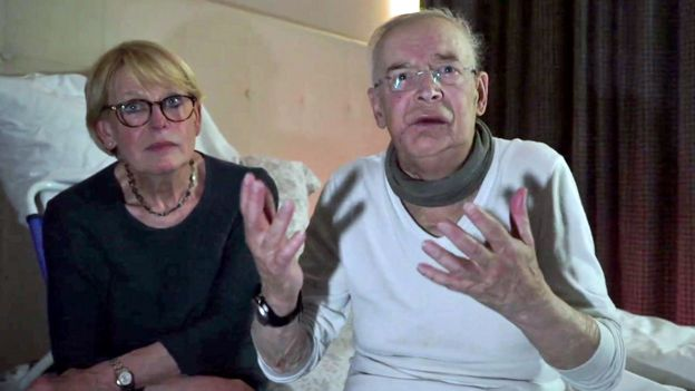 Michel y su esposa Isabelle