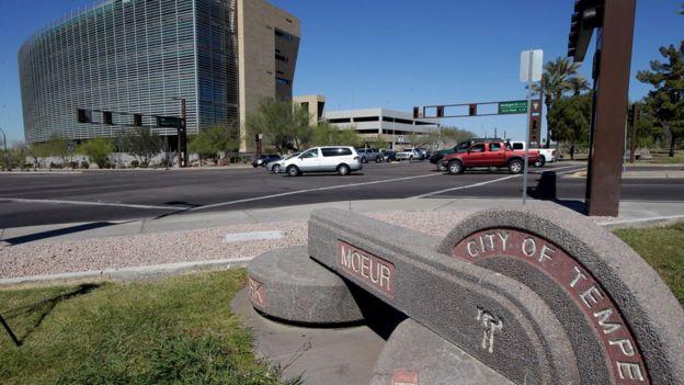 Calle de Tempe, Arizona, Estados Unidos