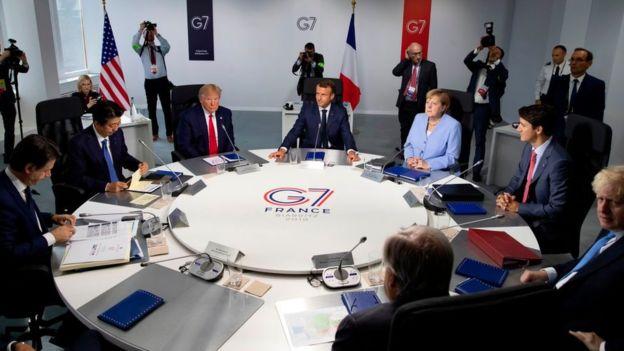G7 reunión