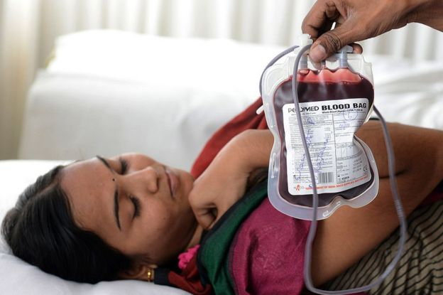 Indian blood donor