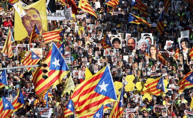Separatist rally, 14 Jul 18