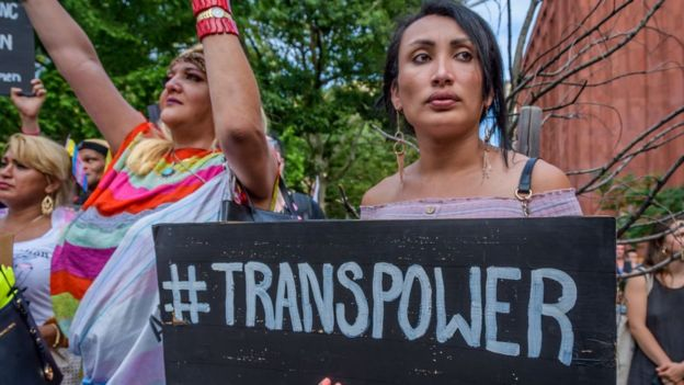 Manifestação pro comunidade LGBT