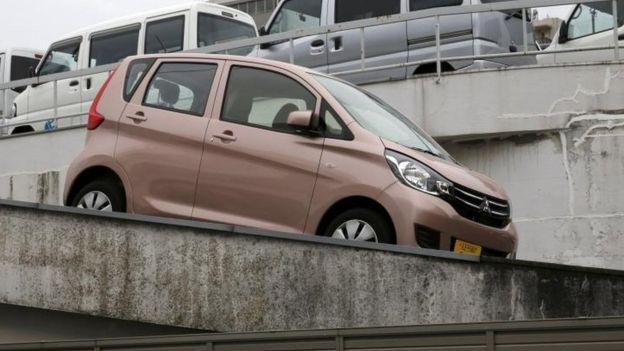 Mitsubishi Motors Office Raided Over Fuel Economy Tests Bbc News