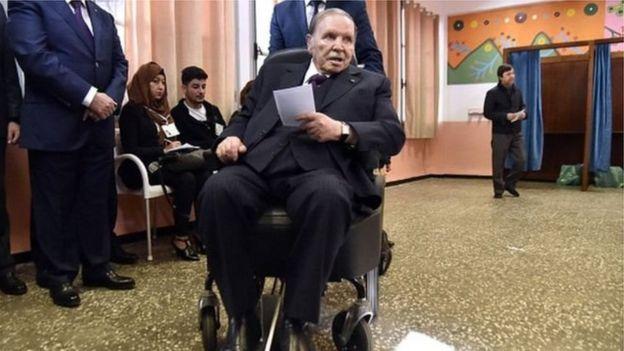 राष्ट्रपति बूतेफ्लीका