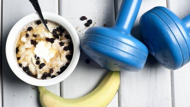 Alimentos e exercícios
