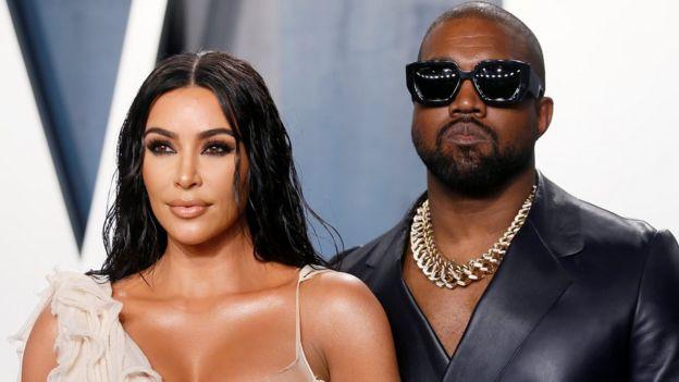 Kim Kardashian West and Kanye