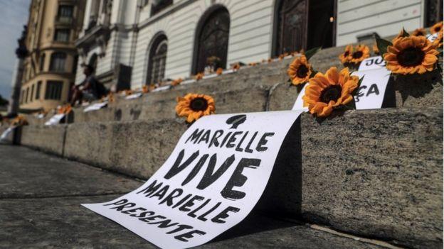 Homenagem a Marielle Franco