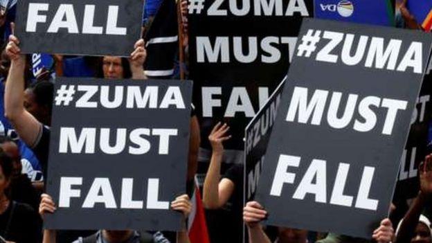 Maandamano dhidi ya Zuma Afrika Kusini