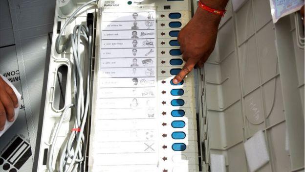 India electronic voting machine
