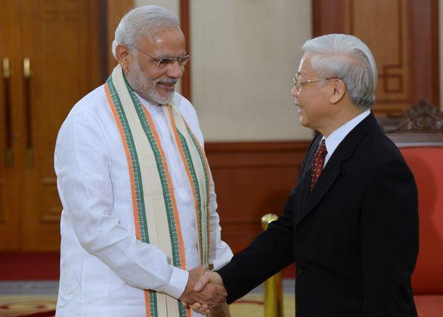 Ấn Độ là một trong những quốc gia mà Việt Nam có quan hệ đối tác chiến lược toàn diện.