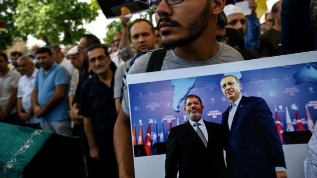 Mursi için cenaze namazı