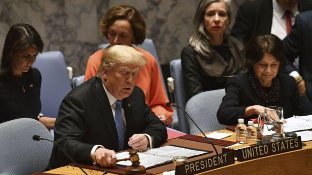 القضية التي تناقشها الجلسة هي عدم انتشار أسلحة الدمار الشامل