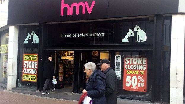 HMV Croydon branch