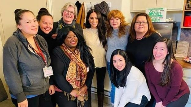 Meghan, Duchess of Sussex, visits Downtown Eastside Women's Center