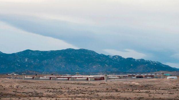 """""""Supermax"""", em Florence, Colorado"""