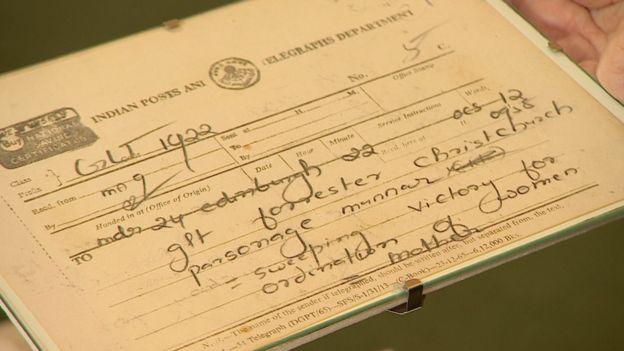 """Margaret era india cuando recibió un telegrama de su suegra contando sobre la """"victoria arrolladora"""""""
