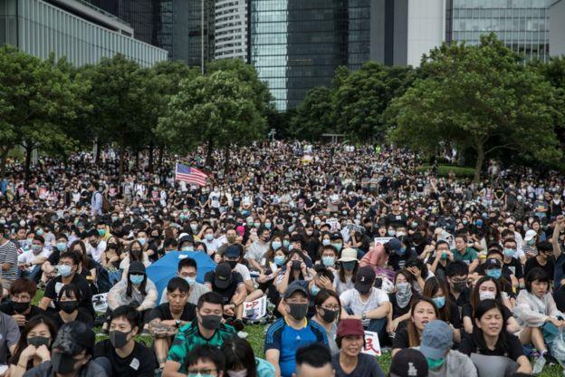 протести в Гонконгзі