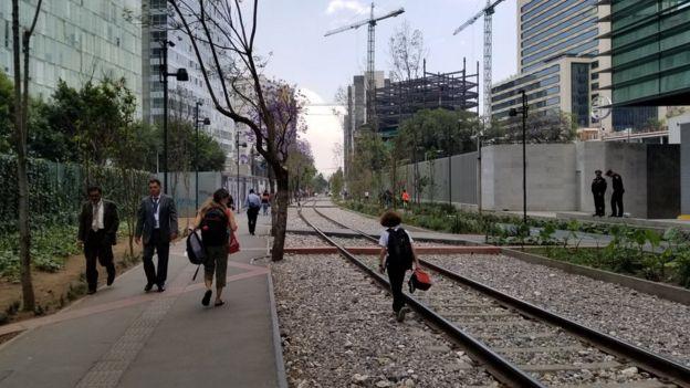 El parque lineal