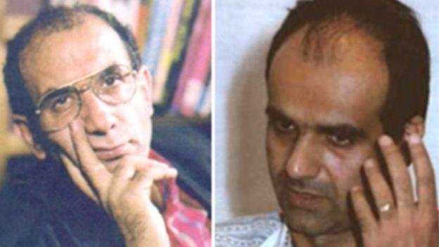 محمد جعفر پوینده و محمد مختاری