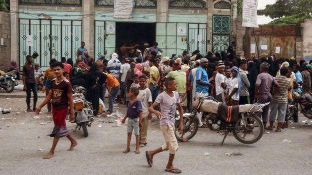 Mercado en Al Hudayda