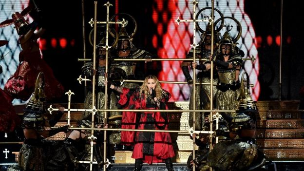 Madonna's Rebel Heart Tour at the O2 arena