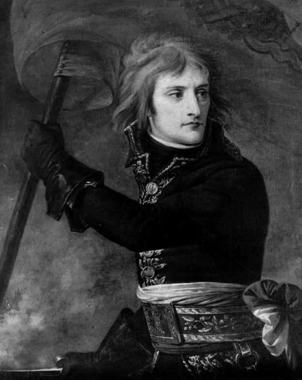 Наполеон Бонапарт на Аркольском мосту, картина художника Антуана-Жана Гро