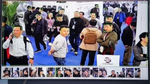 Facial recognition in China