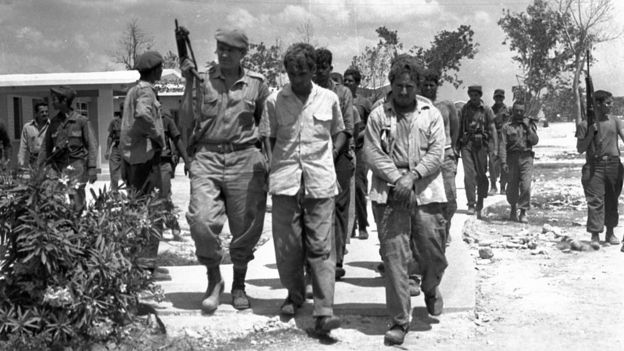 Bay of Pigs soldiers