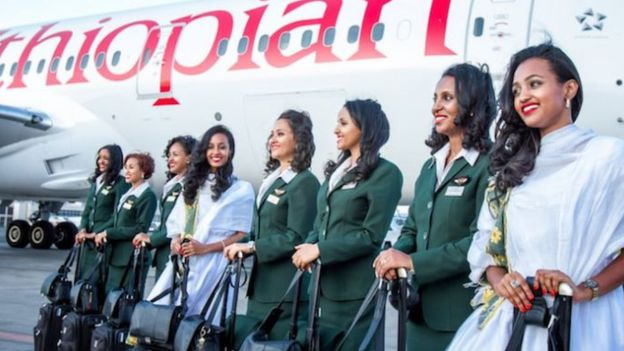这家航空公司表示,希望借这项活动向全世界展示女性力量。