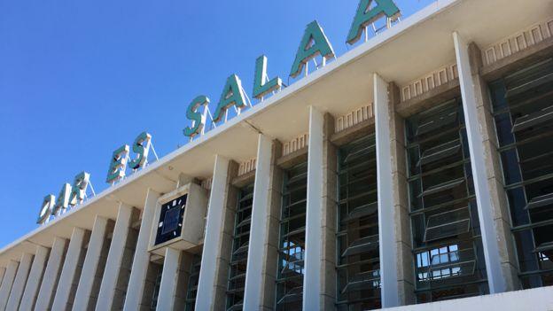 The Tazara station in Dar es Salaam
