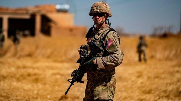 ABD askeri Suriye'de