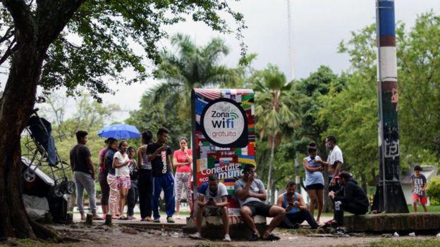 Venezolanos en Cúcuta.