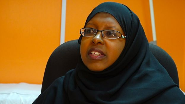 La doctora Sitna Mwanzi