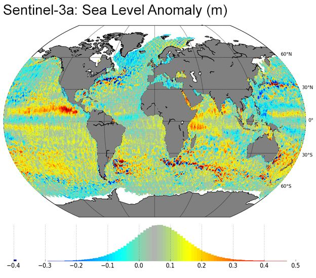 S-3a sea level anomaly