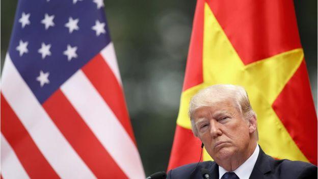 Tổng thống Mỹ Donald Trump từng thăm Việt Nam tháng 11/2017
