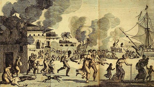 黃熱病疫情幫助海地反叛力量擊敗了法國軍隊,結束了法國殖民統治。