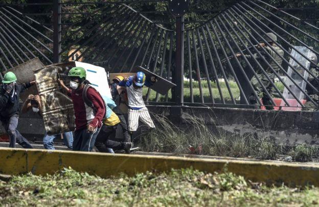 Venezuela lleva más de dos meses sumida en una ola de protestas.