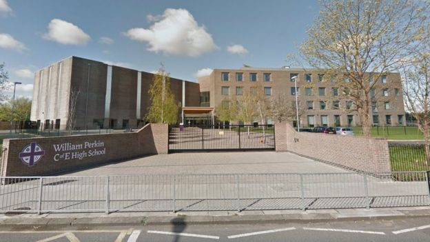 escuela William Perkin en Greenford, Londres.
