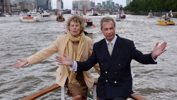 Kate Hoey with Nigel Farage