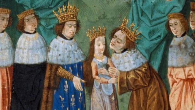 Свадьба Изабеллы де Валуа и Ричарда II